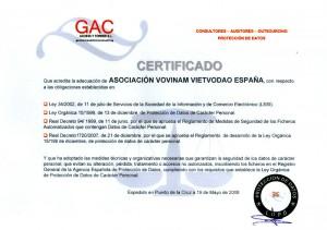 CertificadoProteccionDeDatos